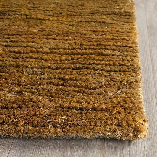 Outdoor rug made of hemp