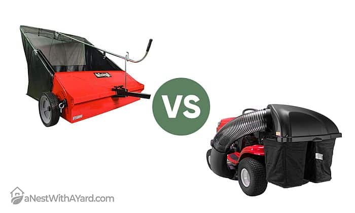 Lawn Sweeper Vs Bagger: Which One Is Better?