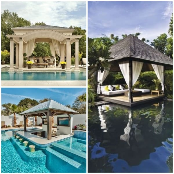 Poolside Pavillion Ideas- Luxurious Paviillion