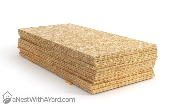 Oriented Strand Board for shed floor