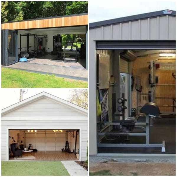 Fitness Gym Man Cave