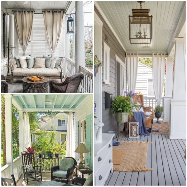 Side Curtains for Porch