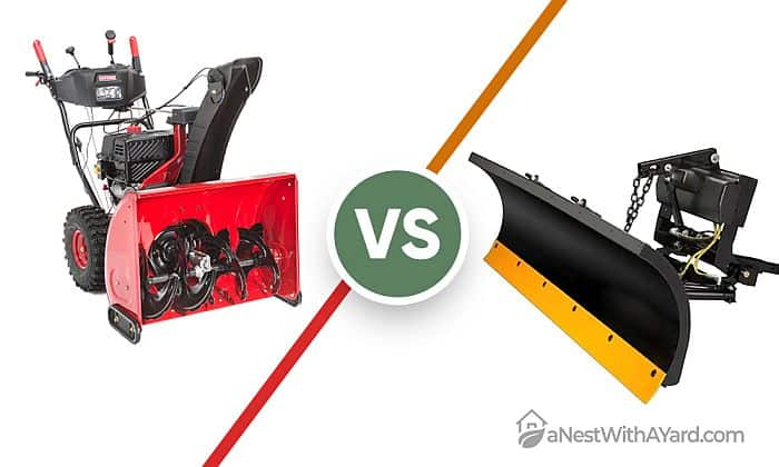 Snow Blower Vs Plow: What's The Difference?