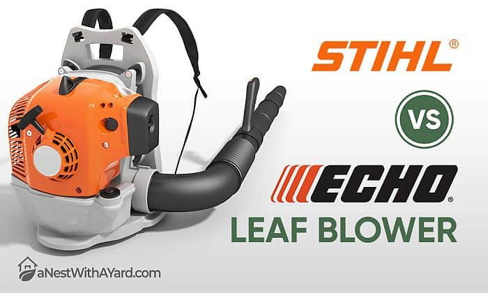 Stihl Vs Echo Backpack Leaf Blower: What's The Difference?