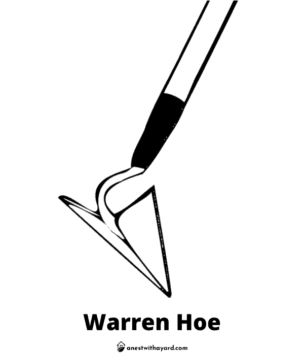 Illustration of Warren Hoe