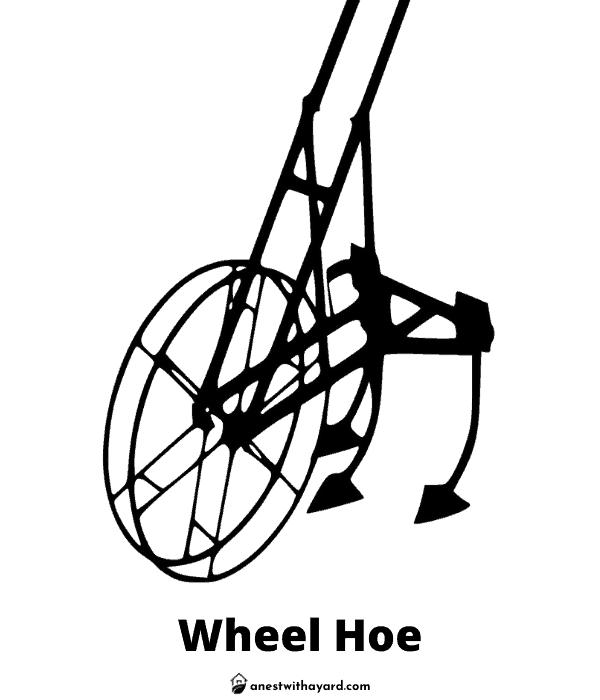 Illustration of Wheel Hoe