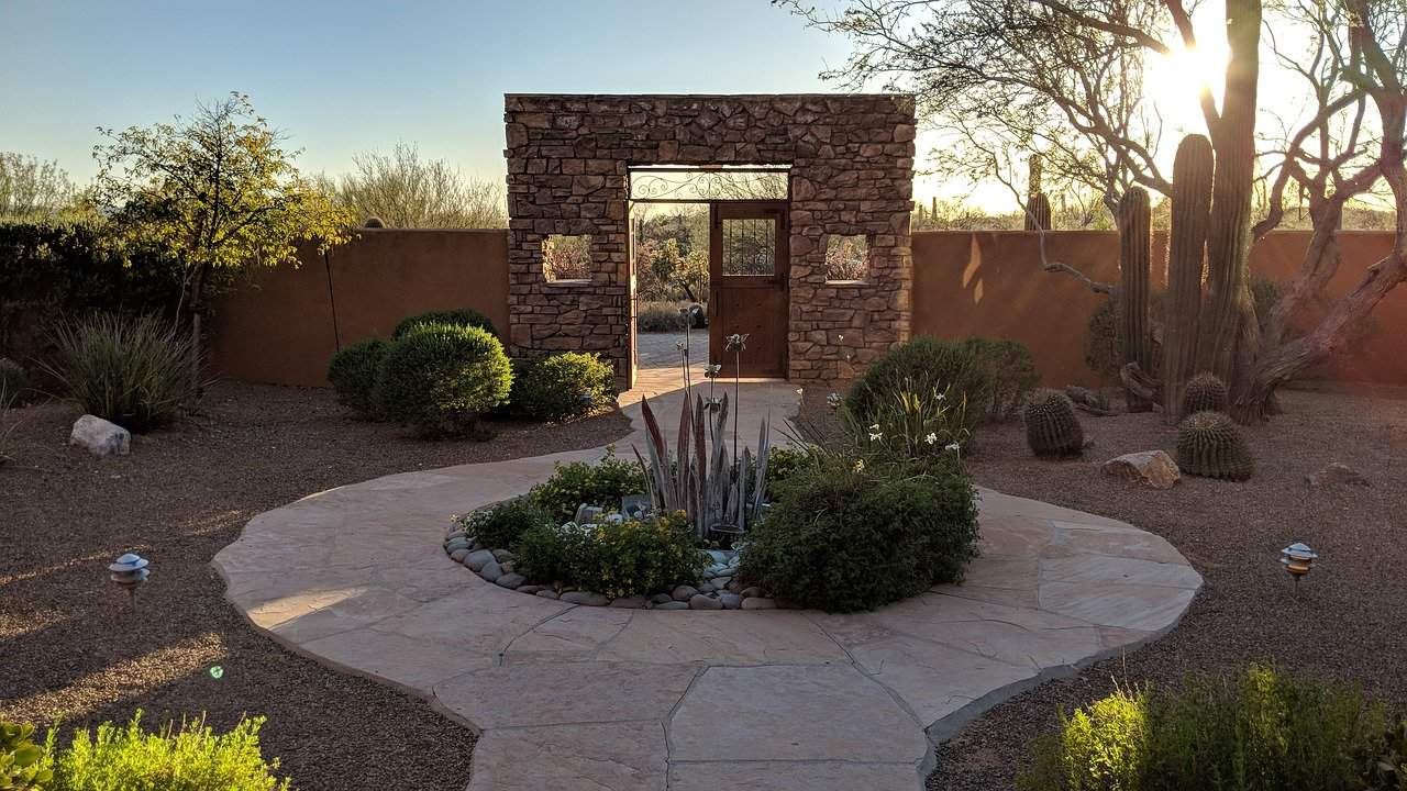 Arizona backyard ideas on a budget fi