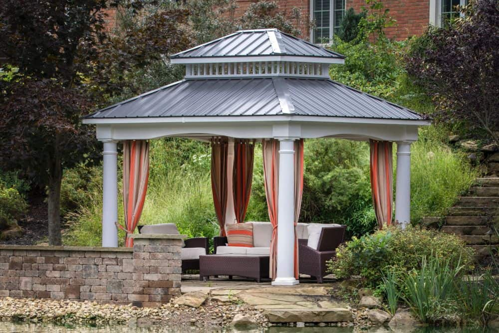 How to choose the best hardtop gazebo? 5 features to consider #gazebo #backyardGazebo #backyard #backyarddesign