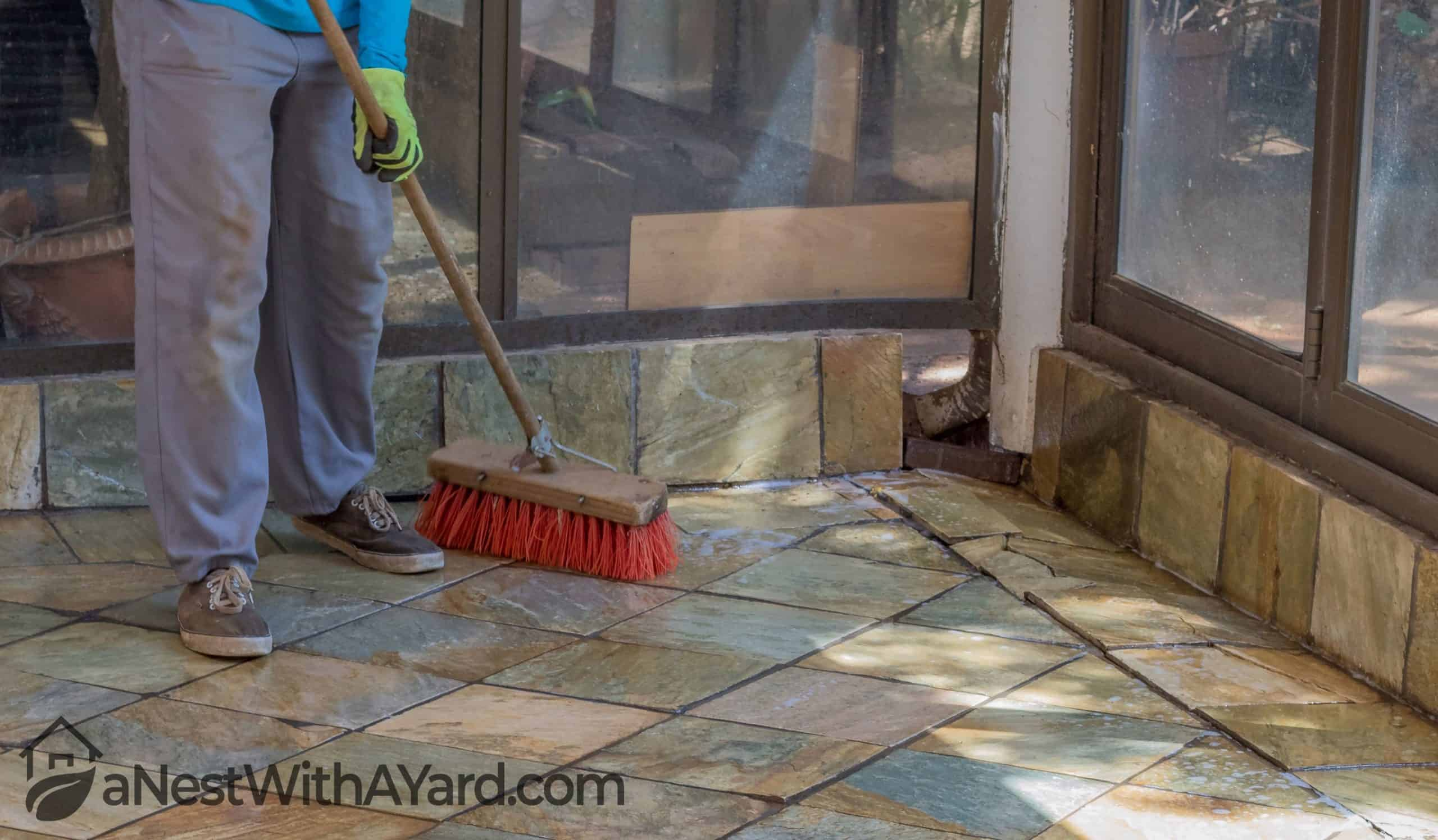 How To Clean Flagstone Patio