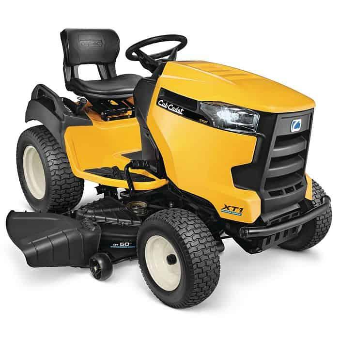 Yellow Cub Cadet Garden Tractor