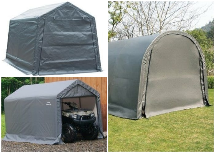 Fabric Tent for Lawn Mower
