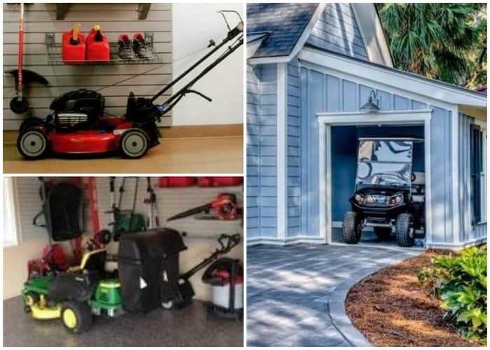 Lawn Mower Garage