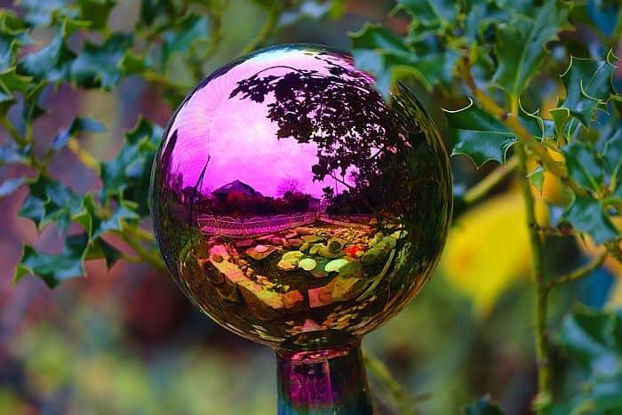 Reflective Garden Ball