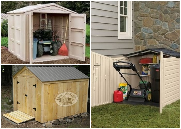 Mini Shed for Lawn Mower