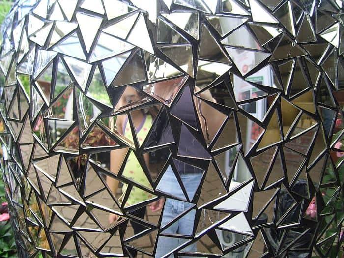 Triangular Mirror Shards