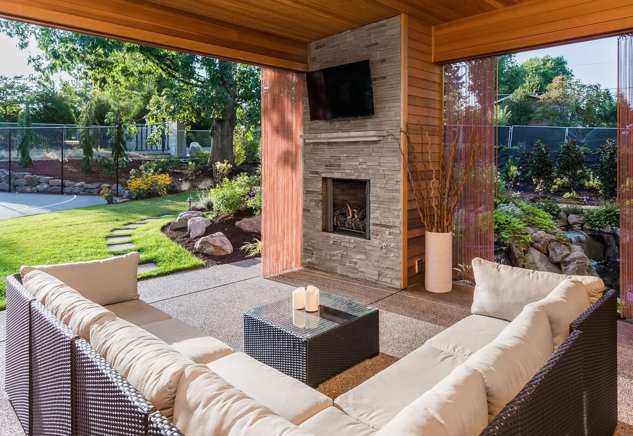 A gorgeous patio setup
