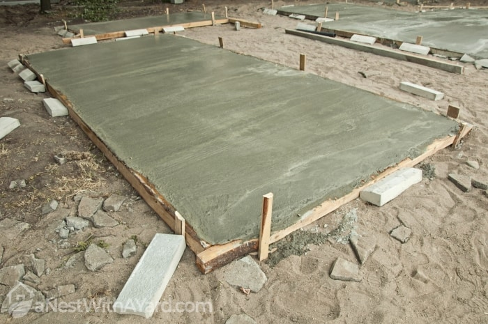 Concrete Flooring for Shed