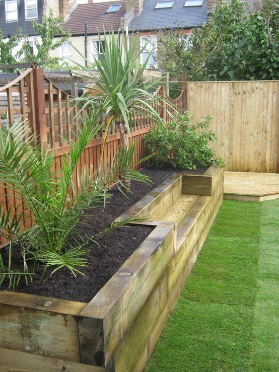 Small garden beds near a fence #diy #fence #smallGarden #SmallGardenDesign #smallyardlandscaping #gardenIdeas #backyardLandscaping #backyardLandscapingIdeas #landscaping
