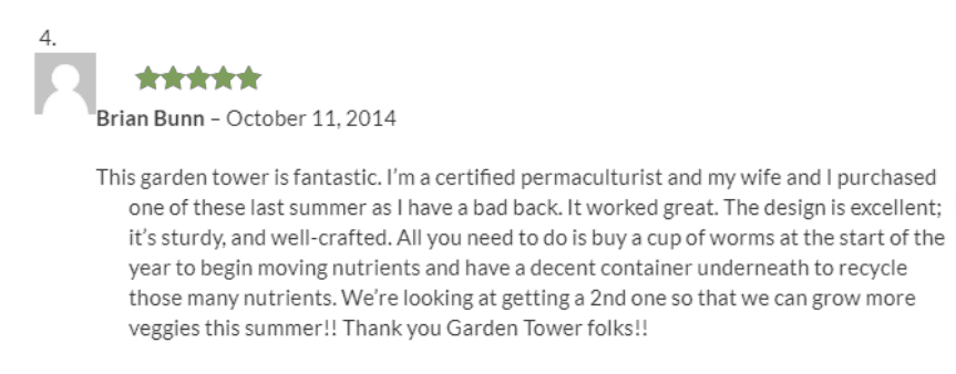Postive Garden Tower Review