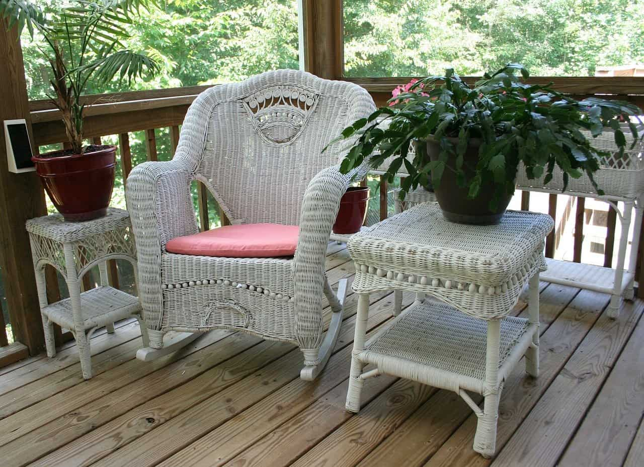 How To Keep Patio Furniture From Blowing Away With Weights And More
