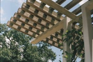 How to Cover a Pergola in 9 easy steps #pergola #Cover #instructions #howto #how #backyardLandscaping #backyardLandscapingIdeas #backyard #outdoor
